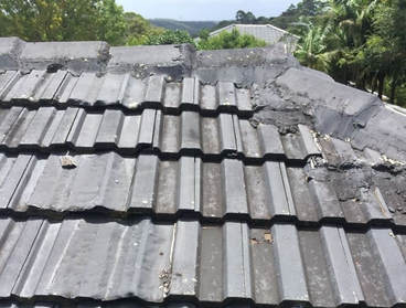 Roof restored poorly before; needs redoing properly